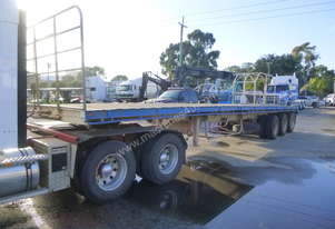 1988 Barker 41ft Triaxle Lead Trailer - In Auction