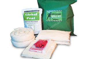 Organic Oil & Fuel Spill Kit. 104L absorbent capacity. Portable canvacon bag. Ideal for trucks & van