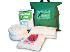 Organic Oil & Fuel Spill Kit. 104L absorbent capacity. Portable canvacon bag. Ideal for trucks & van - picture0' - Click to enlarge
