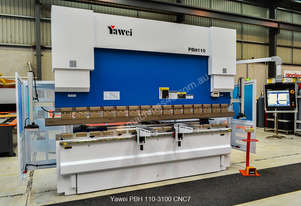 In Stock! Yawei PBH 110-3100 CNC5, CNC7 or more. Precision CNC pressbrakes.