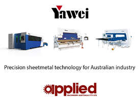 Yawei PBH 110-3100 CNC5, CNC7 or more. Precision CNC pressbrakes. Machines IN STOCK. - picture13' - Click to enlarge