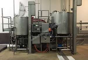 2000L + 1000L Kettles with Pumps and Bin Lifters on Platform
