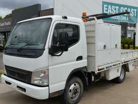 2007 MITSUBISHI FUSO CANTER Tray Top Crane Truck Service Vehicle - picture0' - Click to enlarge