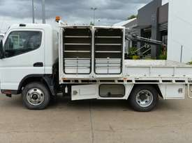 2007 MITSUBISHI FUSO CANTER Tray Top Crane Truck Service Vehicle - picture1' - Click to enlarge