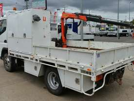 2007 MITSUBISHI FUSO CANTER Tray Top Crane Truck Service Vehicle - picture2' - Click to enlarge