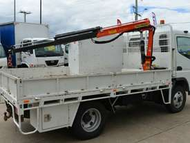 2007 MITSUBISHI FUSO CANTER Tray Top Crane Truck Service Vehicle - picture5' - Click to enlarge