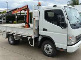 2007 MITSUBISHI FUSO CANTER Tray Top Crane Truck Service Vehicle - picture8' - Click to enlarge