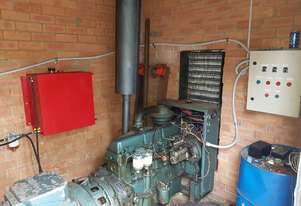 DIESEL GENERATOR 65KVA FORD 52Kw Low Hours Used as Church Backup OFFERS OVER $4,500 + 40ft CONTAINER