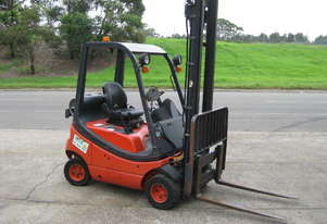 LINDE H18T 6M with SIDE SHIFT & SCALE