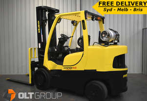 Hyster 7 Tonne Forklift S155FT Fortis Compact Cushion Tyre Sideshift 1500mm Fork Tynes