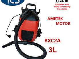 TCS NEW Commercial Dry Backpack Vacuum Cleaner Ametek Motor 1000W 3L - picture0' - Click to enlarge