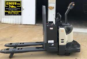 Crown PE4500 Electric Pallet Truck, ex demo. EMUS MS483A