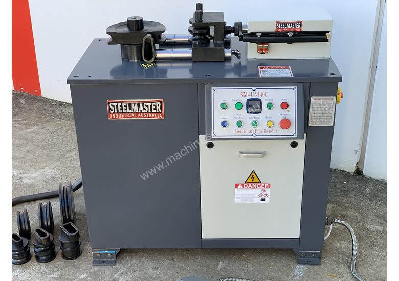 40mm Tube & Pipe Bender - 4 Sets Tooling Included, Hydraulic Clamp & Release & Digital Angle