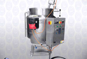 Flamingo Electrically Heat, Jacketed Tank with Clamp-on Stirrer (EFT-J200)