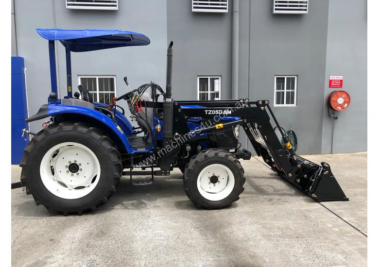 Lovol M804 ROPS 80hp 4WD Tractor with 4 in 1 Loader