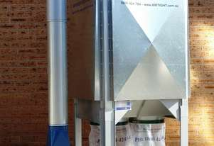 Static Filter Dust Collector - T-500 4kW Dust Collector  - Woodworking Static Filter System