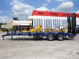 Interstate Trailers ELITE Tandem Axle Tag Trailer Custom Blue & Black ATTTAG - picture3' - Click to enlarge