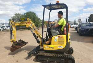 2018 YANMAR VIO17 EXCAVATOR WITH LOW 381 HOURS