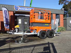 DINGLI E-TECH S06-E ELECTRIC SCISSOR LIFT AND TRAILER PACKAGE - picture3' - Click to enlarge