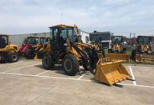 SUMMIT 828 120HP 6.5T Wheel Loader With 4 in 1 Bucket, Fork & Spare Wheel