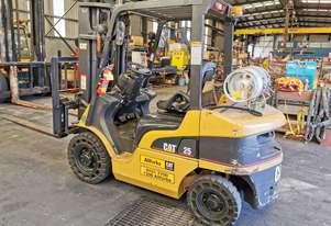 2007 Caterpillar 2500kg Forklift  GP25NT Low 757 Hours