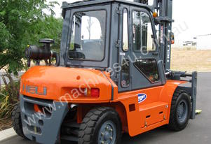 Heli 5-7 ton LPG Forklift with lots of options
