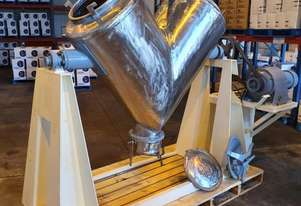 stainless steel contact parts, 3 ph, steel frame, no fence guarding. Size 350L, o