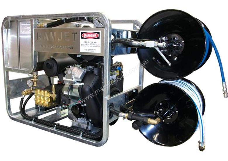 New 2013 Ipcs Ramjet 4000 Self Contained Water Sewer
