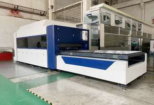 AccurlCMT SMARTLINE FIBER LASER | 6KW IPG | PRECITEC HEAD | BECKHOFF CONTROLLER | CHANGE TABLE
