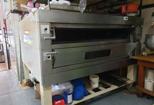 Commercial 2 Deck Pizza Oven / Pastry Oven