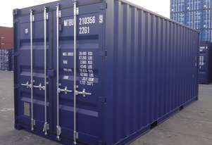 New 20 Foot GP Standard Shipping Container in Stock Brisbane