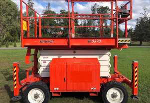 Snorkel SL3370 RT 4 Wheel Drive - Diesel Scissor Lift (10 Year Tested)