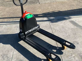 HYWORTH 2T Lithium Electric Pallet Jack for HIRE from $90pw + GST - picture1' - Click to enlarge