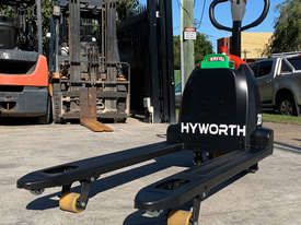 HYWORTH 2T Lithium Electric Pallet Jack for HIRE from $90pw + GST - picture2' - Click to enlarge