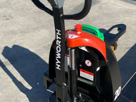 HYWORTH 2T Lithium Electric Pallet Jack for HIRE from $90pw + GST - picture3' - Click to enlarge