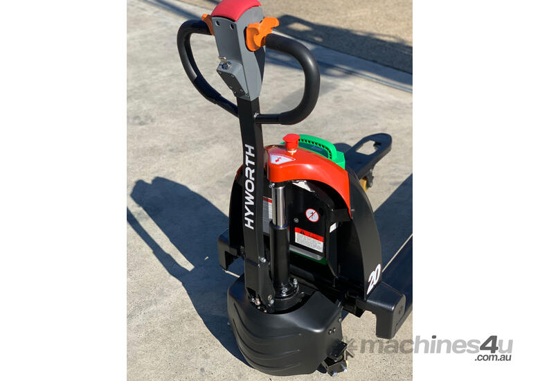 HYWORTH 2T Lithium Electric Pallet Jack for HIRE from $90pw + GST