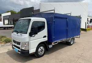 2015 MITSUBISHI FUSO CANTER Tray Truck - Tray Top Gates - Tautliner Truck