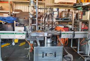 Albro 12 Head Rotary Low Vacuum Filler