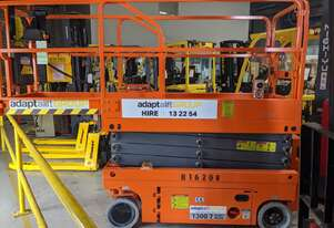 19FT 6M Scissor Lift Hire $240+GST per week