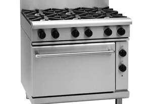 Waldorf 800 Series RNL8619GE - 900mm Gas Range Electric Static Oven Low Back Version