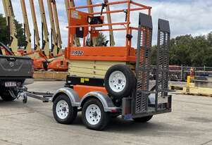 JLG R1932 Scissor lift and Trailer Package