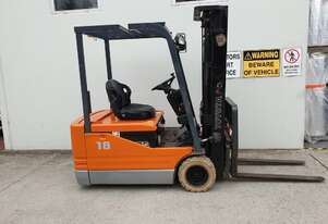 Forklift Toyota Electric (Model: 5FBE18)
