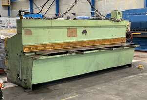 Just In - Australian Made 3650mm x 6mm Hydraulic Guilloitne
