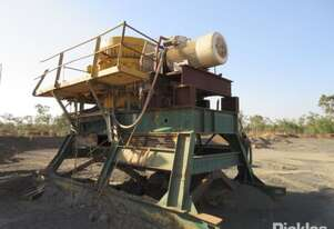 Nordberg Symons 4' Gyratory disc crusher, skid mounted, powered by 3 phase electric motor. Separate