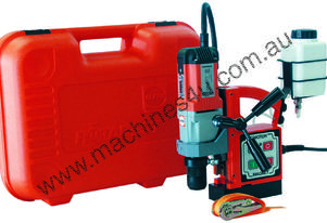 ALFRA EM 40 Magnetic Base Drill. 40mm Drilling Capacity. Made in Germany.