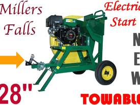 Log saw Firewood cutter, TOWABLE, Pump up wheels++