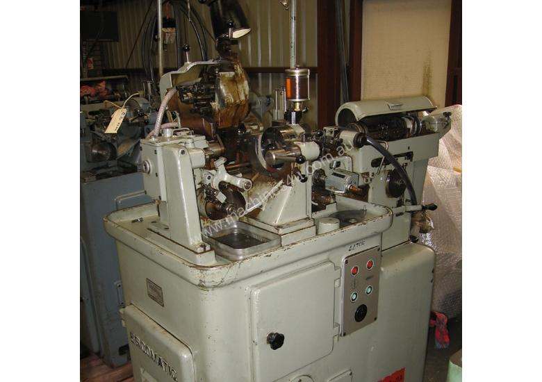 D4 - Escomatic Swiss type machine
