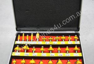 United Tools 35 Piece Router Bit Set