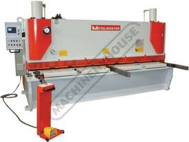 HG-4008VR Hydraulic NC Guillotine - Variable Rake 4000 x 8mm Mild Steel Shearing Capacity 1-Axis Ezy - picture0' - Click to enlarge