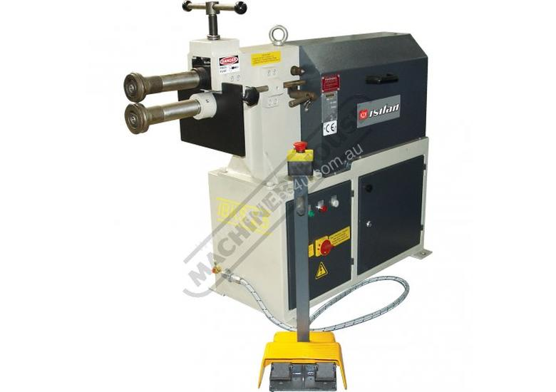 IBKS-2.5 Swage and Jenny - Motorised 2.5mm Mild Steel Thickness Capacity Includes 4 Sets Of Rolls